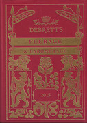 Cover of Debrett's Peerage and Baronetage