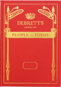 Cover of Debrett's People of Today 2017