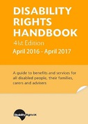 Cover of Disability Rights Handbook April 2016 - April 2017