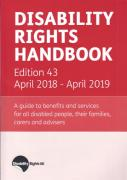 Cover of Disability Rights Handbook April 2018 - April 2019