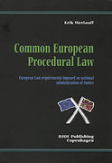 Cover of Common European Procedural Law