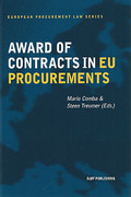 Cover of Award of Contracts in EU Procurements