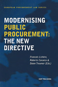 Cover of Modernising Public Procurement: The New Directive