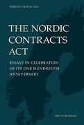 Cover of The Nordic Contracts Act: Essays in Celebration of its One Hundredth Anniversary