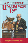 Cover of Uncommon Law: Being 66 Misleading Cases