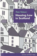 Cover of Housing Law in Scotland