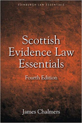 Cover of Law Essentials: Scottish Evidence Law Essentials