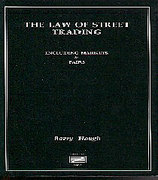 Cover of The Law of Street Trading