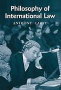 Cover of Philosophy of International Law