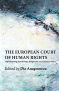 Cover of The European Court of Human Rights: Implementing Strasbourg's Judgments on Domestic Policy