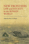 Cover of New Frontiers: Law and Society in the Roman World