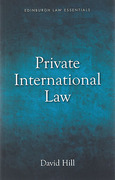 Cover of Law Essentials: Private International Law