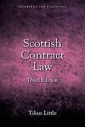 Cover of Scottish Contract Law