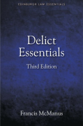 Cover of Law Essentials: Delict