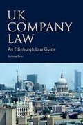 Cover of UK Company Law: An Edinburgh Law Guide