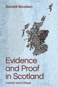 Cover of Evidence and Proof in Scotland: Context and Critique