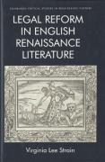Cover of Legal Reform in English Renaissance Literature