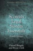 Cover of Scottish Legal System Essentials