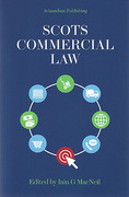 Cover of Scots Commercial Law