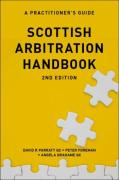 Cover of Scottish Arbitration Handbook