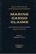 Cover of Marine Cargo Claims