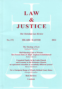 Cover of Law and Justice: The Christian Law Review