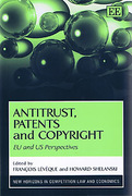 Cover of Antitrust, Patents and Copyright: EU and US Perspectives