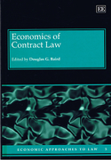 Cover of Economics of Contract Law
