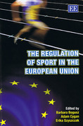 Cover of The Regulation of Sport in the European Union