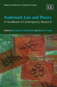 Cover of Trademark Law and Theory: A Handbook of Contemporary Research
