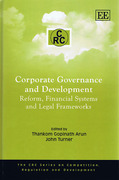 Cover of Corporate Governance and Development: Reform, Financial Systems and Legal Frameworks