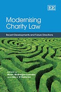 Cover of Modernising Charity Law: Recent Developments and Future Directions