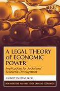 Cover of A Legal Theory of Economic Power: Implications for Social and Economic Development