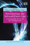Cover of Biotechnology and Software Patent Law: A Comparative Review of New Developments