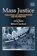 Cover of Mass Justice: Challenges of Representation and Distribution