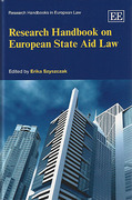 Cover of Research Handbook on European State Aid Law
