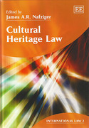 Cover of Cultural Heritage Law