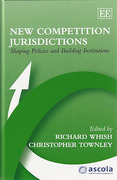 Cover of New Competition Jurisdictions: Shaping Policies and Building Institutions
