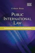 Cover of Public International Law: Contemporary Principles and Perspectives