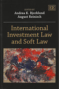 Cover of International Investment Law and Soft Law