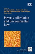Cover of Poverty Alleviation And Environmental Law