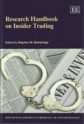 Cover of Research Handbook on Insider Trading