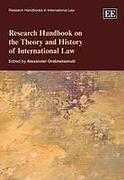 Cover of Research Handbook on the Theory and History of International Law