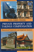 Cover of Private Property and Takings Compensation: Theoretical Framework and Empirical Analysis