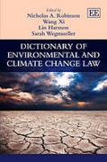 Cover of Dictionary of Environmental and Climate Change Law
