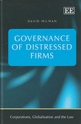 Cover of Governance of Distressed Firms: Corporations, Globalisation and the Law