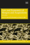 Cover of Law and Economics of Mergers and Acquisitions