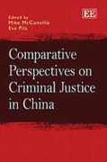 Cover of Comparative Perspectives on Criminal Justice in China
