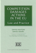 Cover of Competition Damages Actions in the EU : Law and Practice