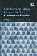 Cover of Handbook on European Competition Law: Enforcement and Procedure